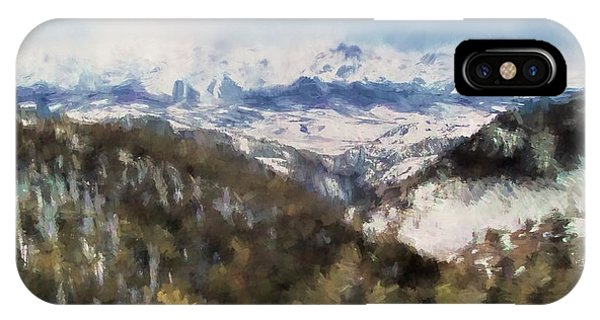 Colorado Mountains 4 Landscape Art By Jai Johnson IPhone Case