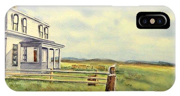 Colorado Ranch IPhone Case