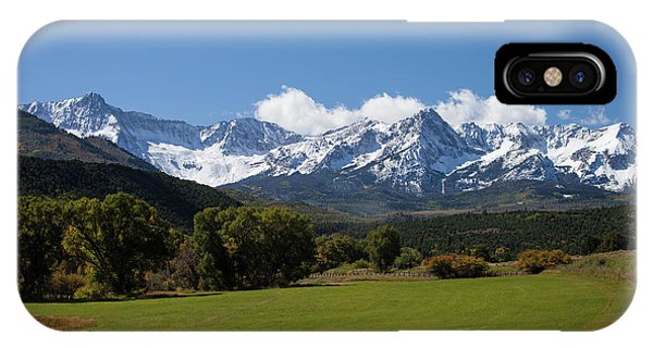 Colorado Ranch IPhone Case