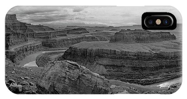 Colorado River Gooseneck Pano IPhone Case