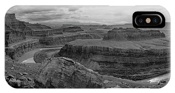 Colorado River Gooseneck Pano IPhone Case