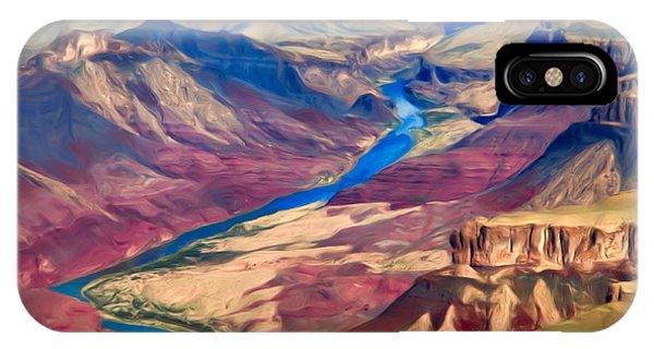 Colorado River In Grand Canyon IPhone Case