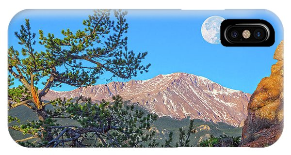 Colorado Rocky Mountain High, Just A Breath Away From Heaven IPhone Case