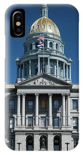 Capitol Building iPhone Case - Colorado State Capitol by Steve Gadomski