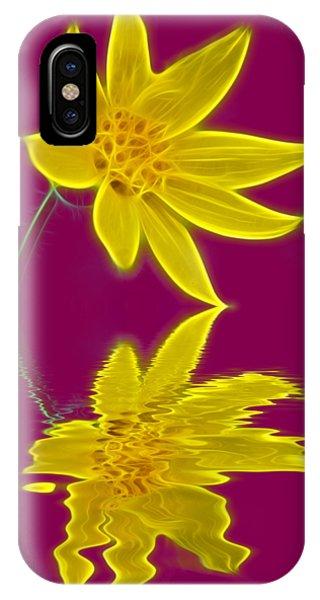 Colorado Wildflower IPhone Case