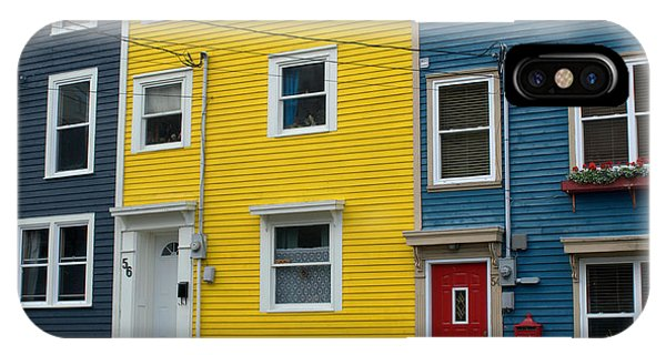 Colored Houses IPhone Case