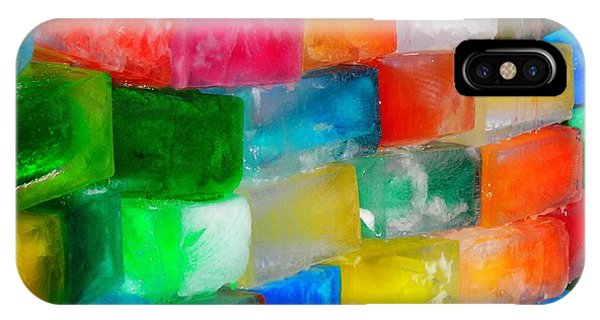 Colored Ice Bricks IPhone Case