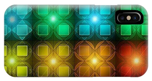 iPhone Case - Colored Lights by Lisa Marie Towne