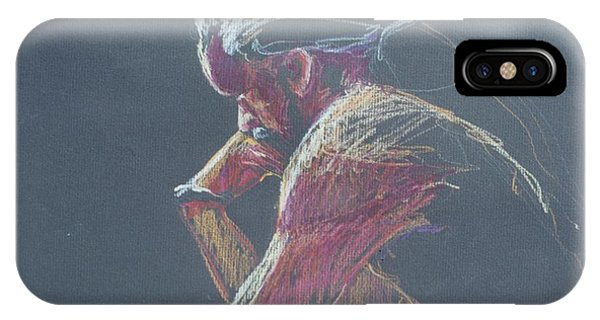 Colored Pencil Sketch IPhone Case