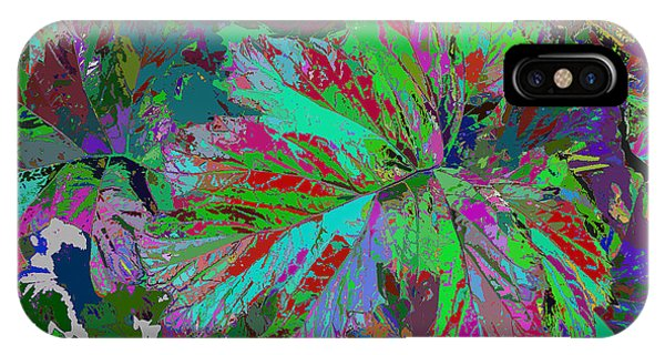Colorfication - Leafy Colored IPhone Case