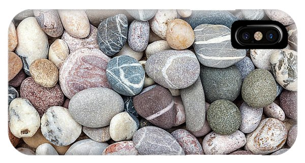 IPhone Case featuring the photograph Colorful Beach Pebbles by Elena Elisseeva
