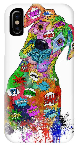 The Head Tilt. Need I Say More? IPhone Case