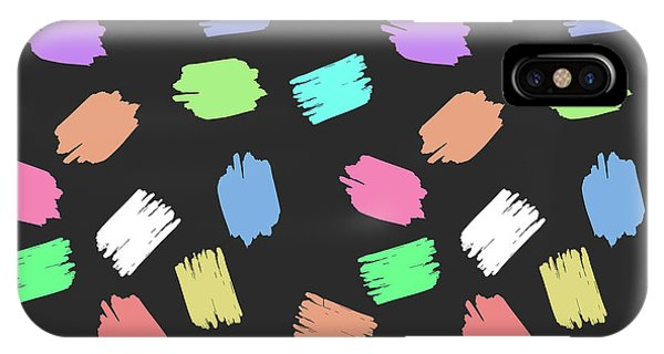 Colorful Brush  IPhone Case