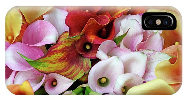Colorful Calla Lilies IPhone Case