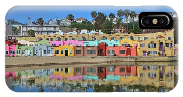 Colorful Capitola Venetian Hotel IPhone Case