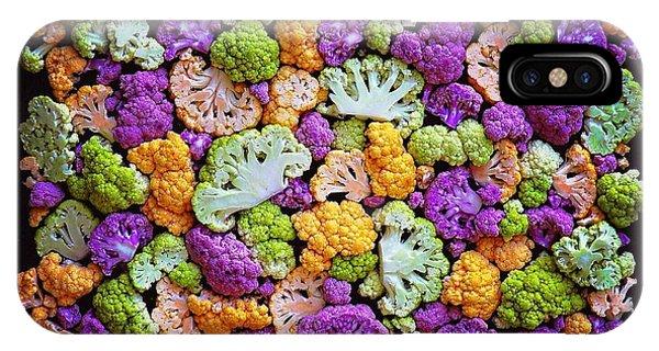 Colorful Cauliflower Mosaic IPhone Case