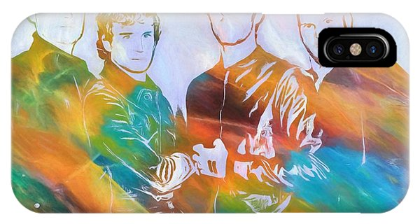Coldplay iPhone Case - Colorful Coldplay by Dan Sproul
