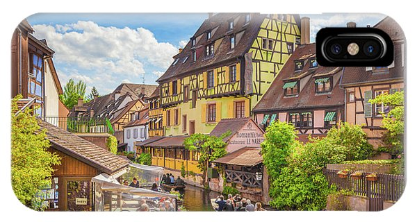Colorful Colmar IPhone Case
