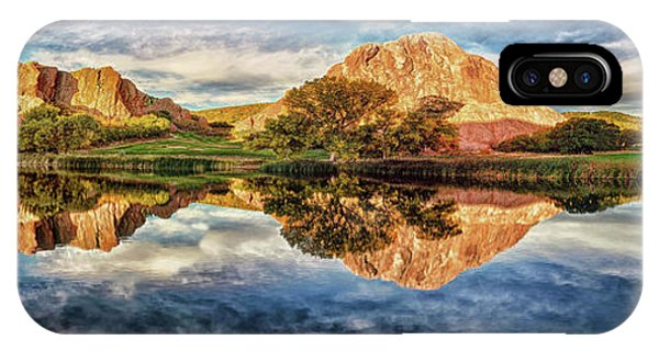 IPhone Case featuring the photograph Colorful Colorado - Panorama by OLena Art Brand