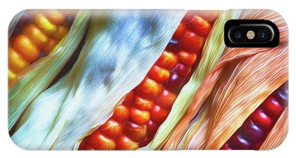 Fall Colors iPhone Case - Colorful Corn 3 by Veikko Suikkanen