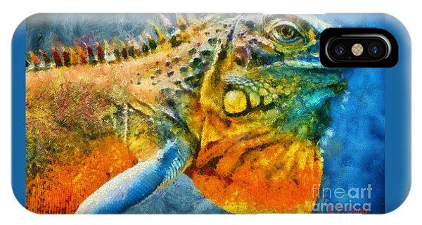 Colorful Creature  IPhone Case