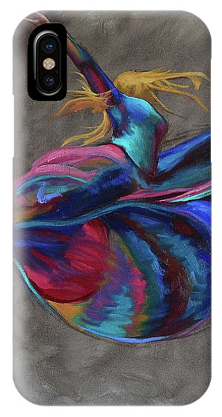 Colorful Dancer IPhone Case