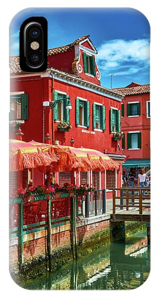 Colorful Day In Burano IPhone Case