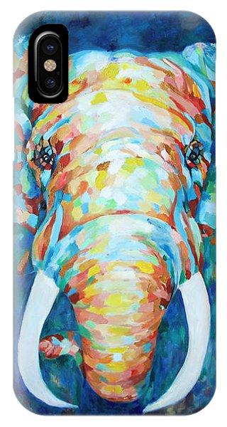 Colorful Elephant IPhone Case