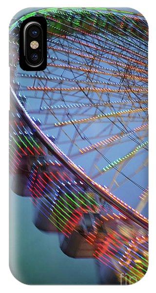 Funfair iPhone Case - Colorful Ferris Wheel by Carlos Caetano