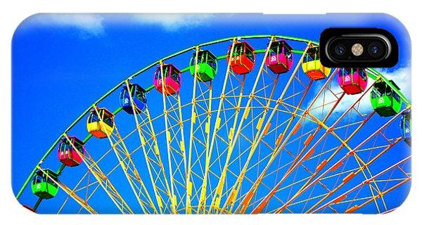Colorful Ferris Wheel IPhone Case