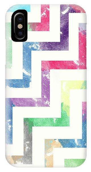 Colorful Geometric Patterns Vi IPhone Case