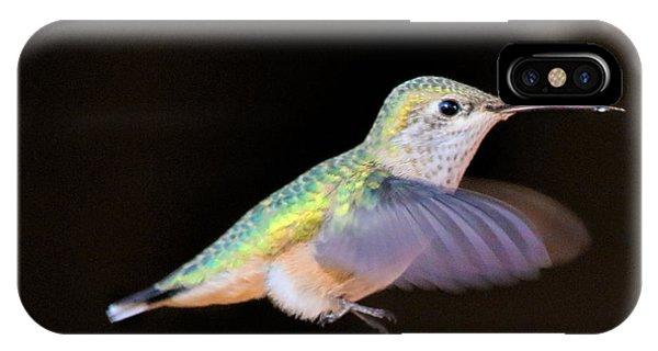 Colorful Hummingbird IPhone Case