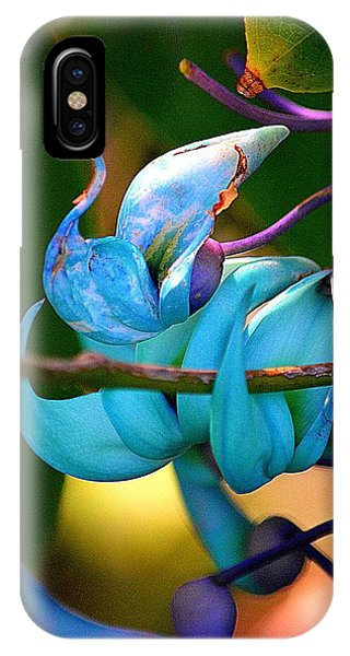 Colorful Jade Blossom IPhone Case