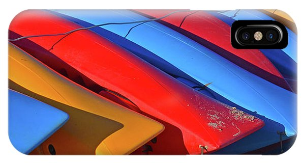 Colorful Kayaks IPhone Case