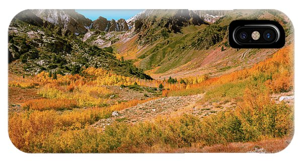 Colorful Mcgee Creek Valley IPhone Case
