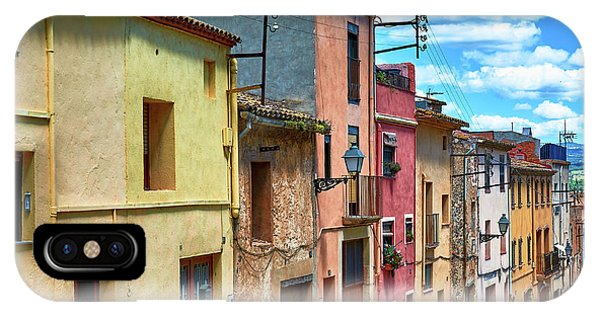 Colorful Old Houses In Tarragona IPhone Case