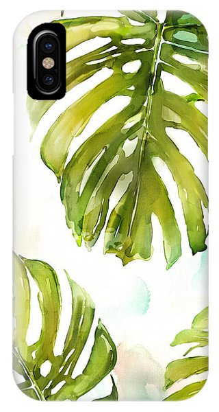 Palm Trees iPhone Case - Colorful Palm by Mauro DeVereaux