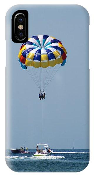 Colorful Parasailing IPhone Case