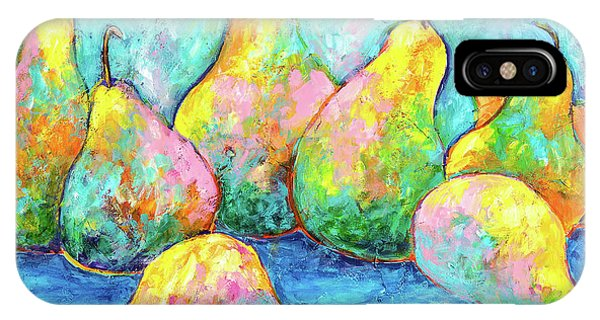 Colorful Pears IPhone Case