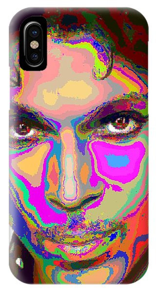 Colorful Prince IPhone Case