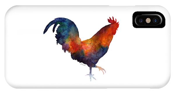 Colorful Rooster IPhone Case