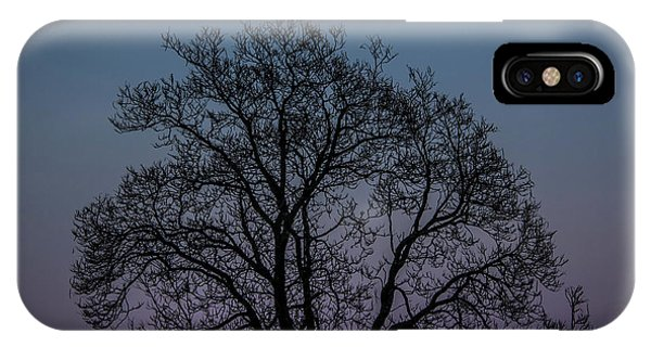 IPhone Case featuring the photograph Colorful Subtle Silhouette by Darryl Hendricks