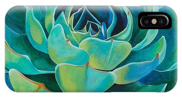 Succulent iPhone Case - Colorful Succulent by Kristen Cabatingan