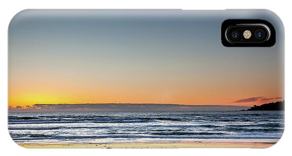 Colorful Sunset Over A Desserted Beach IPhone Case