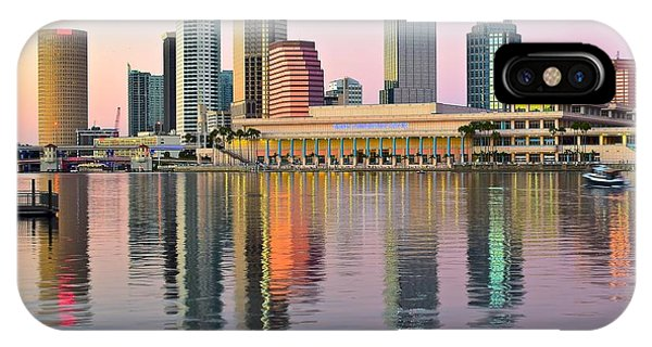 Inner World iPhone Case - Colorful Tampa Bay by Frozen in Time Fine Art Photography