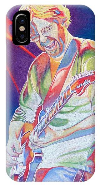 Fare iPhone Case - Colorful Trey Anastasio by Joshua Morton