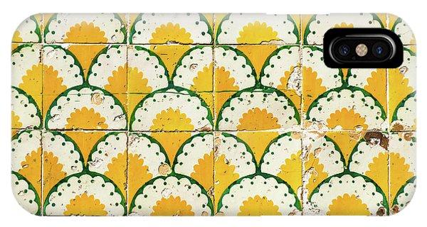 Colorful Vintage Portuguese Tiles IPhone Case