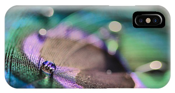 Colorful Water Droplet IPhone Case