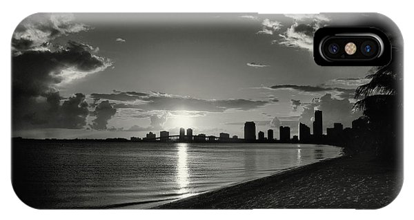 Colorless Sunset IPhone Case