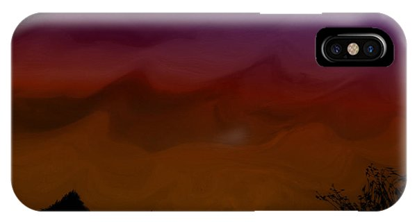 Colors At Dusk IPhone Case